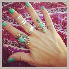 Three sisters Ring style pic on Free People