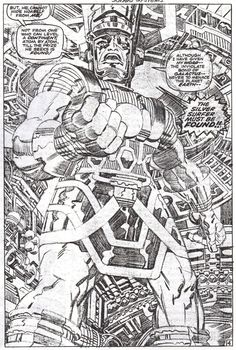 Pencilled By Jack Kirby. <3