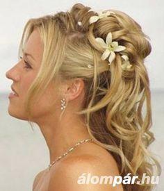 menyasszonyi frizurák koronaval - Google keresés