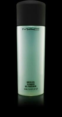 Mac green gel cleanser - a must if you use mac products