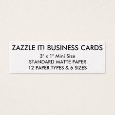 Custom Personalized Business Cards Blank Template - business template gifts unique customize diy personalize