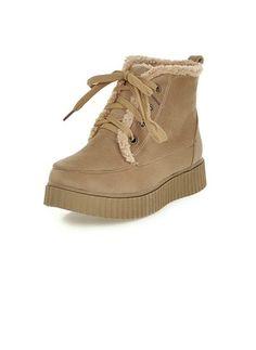 Zapatos Botas Botas al tobillo Tipo de tacón Cuero  ...