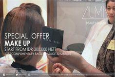 ❤️ Our ALMA Salon Promotion .. MELIA Hotels Makassar