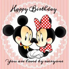 happy birthday from mickey minnie quotes mouse Happy Birthday Mickey Mouse, Happy Birthday For Him, Happy Birthday Best Friend, Happy Birthday Wishes Quotes, Happy Birthday Greetings, Happy Quotes, 3rd Birthday, Birthday Ideas, Disney Birthday Quotes
