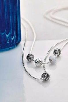 Customize your necklaces with PANDORA Essence. #PANDORATexas #PANDORAessence #PANDORANecklaces #PANDORAjewelry