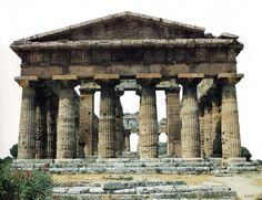 Doric temple of Poseidon, Paestum (southern Italy) – (400s BC)