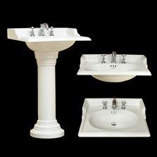 Perrin U0026 Rowe Victorian Handbasin And Pedestal