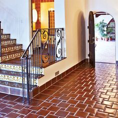 spanish tile floors | ... Stairtread, Natural Clay Tile, Spanish Tiles Los Angeles, USA Tiles