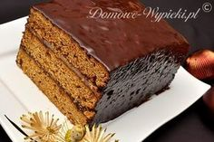 Piernik staropolski Hungarian Recipes, Hungarian Food, Polish Recipes, Polish Food, Gingerbread Cake, Four, Let Them Eat Cake, Nom Nom, Sweet Treats