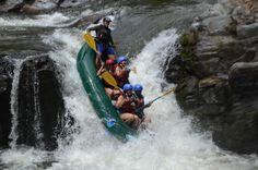 Surviving the rapids of the Tenorio River Guanacaste, Costa Rica #rafting #fun #cool