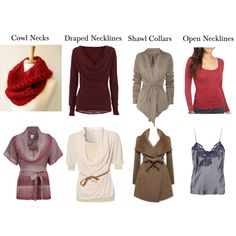 Soft Natural - Necklines by sensualbohemian on Polyvore