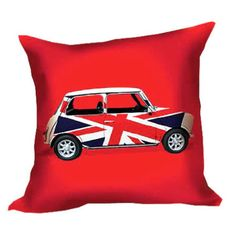 union jack pillow - I must have this pillow!!!