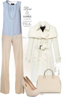 No. 917 - Scandal Fashion - Channeling Olivia Pope