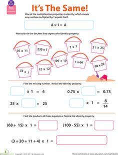 math worksheet : associative property properties of addition and addition  : Properties Of Addition Worksheet
