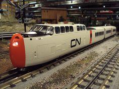 MTH Premier O Gauge Canadian National TurboTrain.