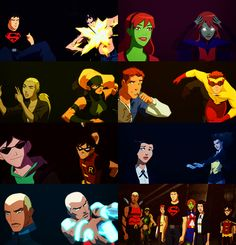 The Original Young Justice Team. I fell in love with each character.