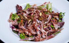 Salata calduta cu linte si fistic | Nicolai Tand Foodies, Beef, Salads, Meat, Steak