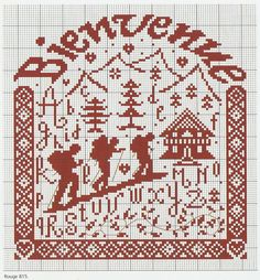 Cross Stitch *<3* Bienvenue