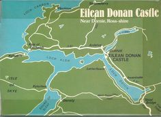 Eilean Donan Castle - Back Cover inside Scottish Names, Eilean Donan, Skye Scotland, Plantation Homes, Family History, Places To Go, Beautiful Places, How To Plan, Cover