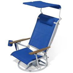 The Suntracking Beach Chair - Hammacher Schlemmer. I love my Tommy Bahama chair but this is pretty rad!