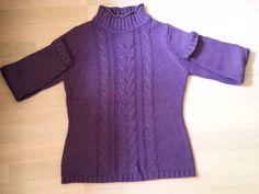 Gerry Weber Damen Pullover Gr 36-38 Lila