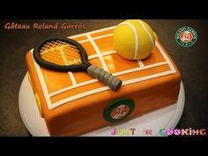 Tennis Cupcakes, Fondant, Roland, Cake Art, Themed Cakes, Cake Decorating, Birthday Cake, Cooking, Desserts