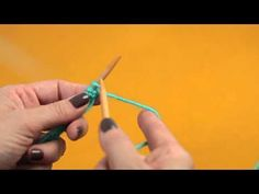 Teach Yourself To Knit! - Blissfully Domestic