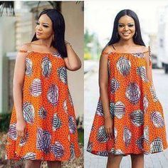 Sleeveless  off body casual chitenge dress. Kanyget fashions+