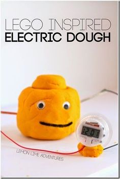 LEGO electricity science experiment - This is such a FUN idea that looks easy to try.