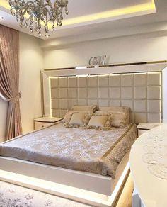 Bad Room Design, Home Room Design, Home Interior Design, Indian Bedroom Decor, Home Decor Bedroom, Bedroom Closet Design, Bedroom Furniture Design, Modern Luxury Bedroom, Luxurious Bedrooms