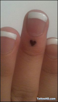 artistic small tattoos | small tattoos ideas , Small Tattoos Looks like an angel kiss but heart shaped!!.