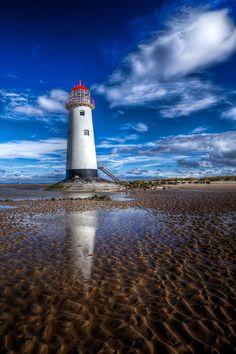 Talacre Beach, Flintshire, North Wales England
