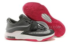 http://www.jordan2u.com/cheap-nike-kd-7-charcoal-greywhitehyper-pink.html Only$102.00 CHEAP #NIKE KD 7 CHARCOAL GREY/WHITE-HYPER PINK #Free #Shipping!