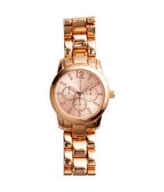 Armbanduhr aus Metall mit selbstleuchtenden Ziffern und Zeigern. Breite des Armbands ca. 2 cm, Länge 18,5 cm.