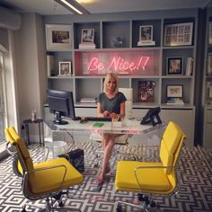 Caroline Stanbury - decorating with words — The Decorista for a home office with a feminine touch. eclectic home office. home decor and interior decorating ideas. Home Office Space, Home Office Design, Home Office Furniture, Home Office Decor, Home Design, Interior Design, Home Decor, Office Ideas, Office Designs