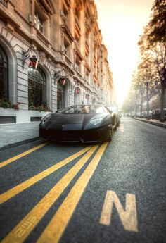 automotivated:  Aventador [FlickR Explore] (by A-lain W-allior A-rtworks)