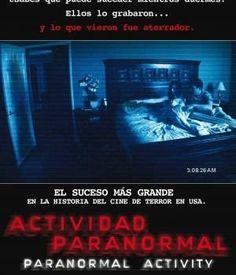 Actividad paranormal, movie, película, film, cine, teathers, video on demand, vod, pánico, miedo, terror, horror, fear, scary.
