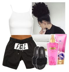 """""""At home """" by kiatheplugg ❤ liked on Polyvore featuring Topshop and Puma"""