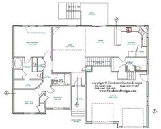 Single storey semi detached house layout plan | Home and house ...