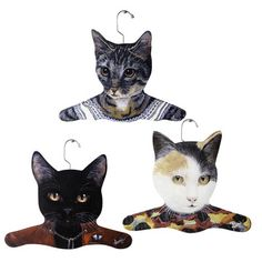 Stupell Industries: Cat Hangers - these are creepy cute!