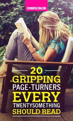 20+Gripping+Page-Turners+Every+Twentysomething+Woman+Should+Read  - Cosmopolitan.com