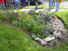 garden accent   ... accent the native plants, and the gardens form is as beautiful as its