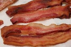 Cook bacon in the oven; it's easier!