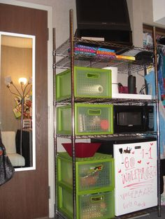 15 Not-So-Obvious Dorm Room Organization Ideas! | Big thing, 20 ...