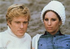 Classic: Back in 1973, the actors co-starred in a romantic story of lovers with tragically opposite personalities