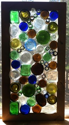 Bottle window for my bedroom