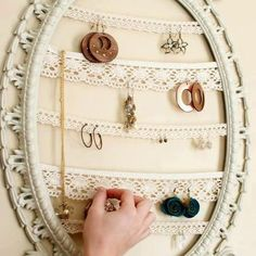 Photo: old mirror frame ... get new life !