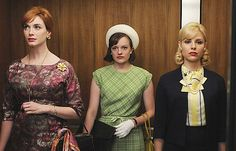 Some of the women of Mad Men