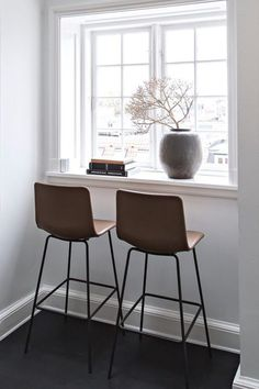 Pato is a carefully crafted multipurpose chair in sustainable polypropylene. Pato 4 Leg Barstool comes in both bar and kitchen counter height. The barstool is available with optional upholstery.  #wellingludvik #patochair #fredericiafurniture