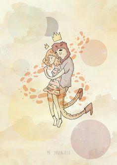 """Ilustración inspirada en la canción """"Lucha de gigantes"""" #illustration #ilustración"""
